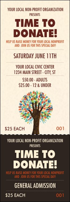 Fundraiser Tree Event Ticket