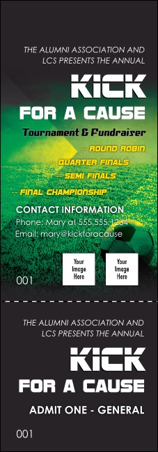 Soccer Field Event Ticket