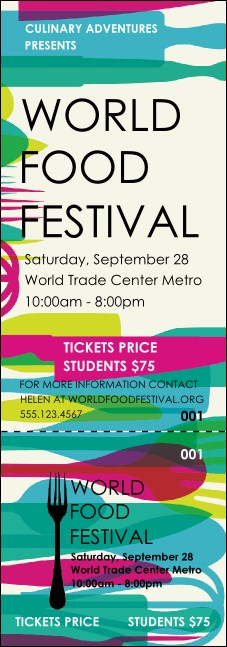 World Food Festival Event Ticket
