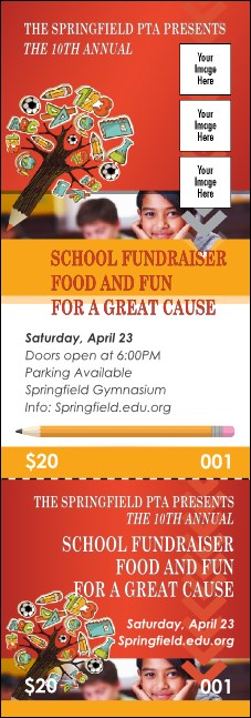Fundraiser for Education Event Ticket