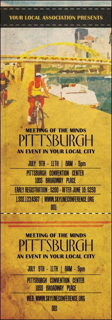 Pittsburgh 2 Event Ticket