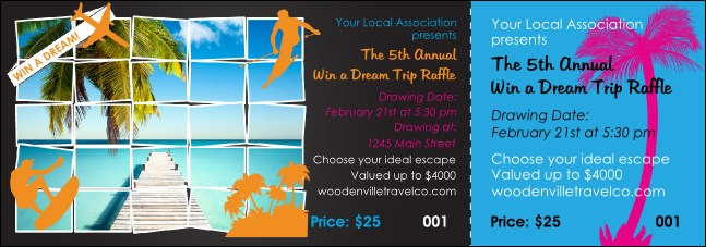 Win a Vacation Event Ticket