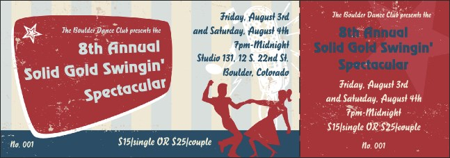 Swing Dance General Admission Ticket Product Front
