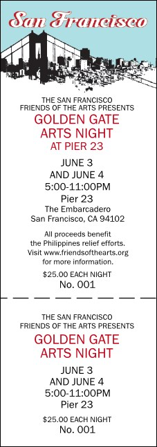 San Francisco Event Ticket