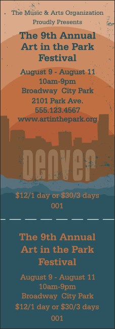 Denver General Admission Ticket