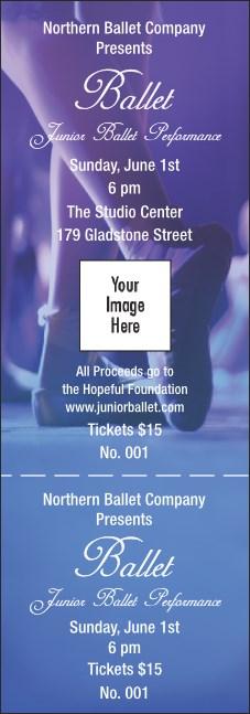 ballet general admission ticket