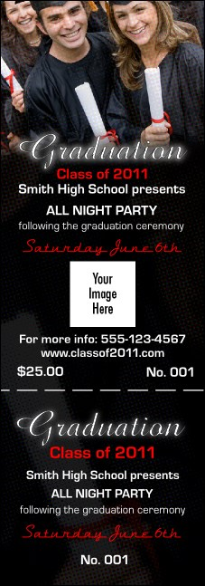 Graduation Diploma General Admission Ticket Logo Product Front