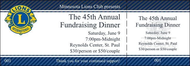 Lions Clubs general admission