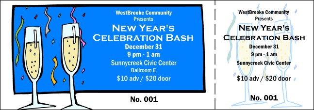 Celebration General Admission Ticket 001
