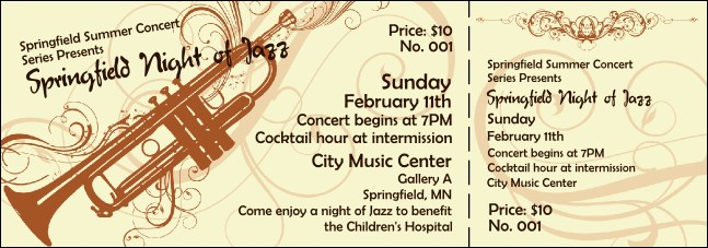 Concert Series Ticket 004