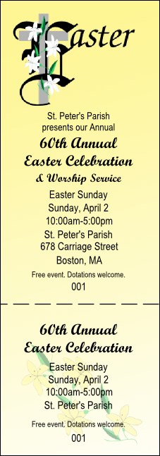 Easter General Admission Ticket 002
