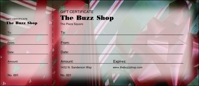 Present Gift Certificate