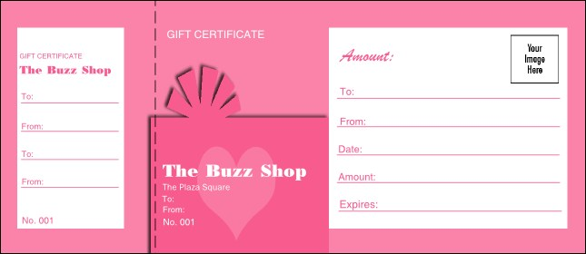Present Gift Certificate 007 Product Front