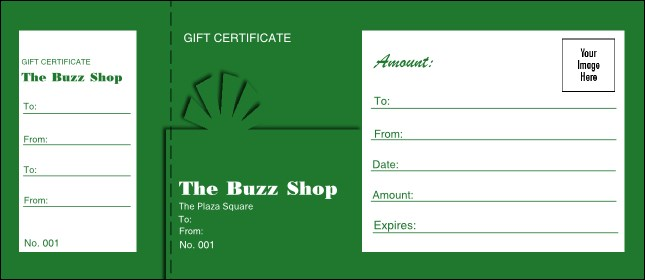 Present Gift Certificate 005