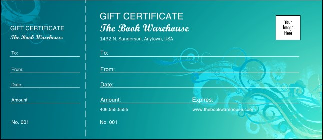 Scroll Gift Certificate 002