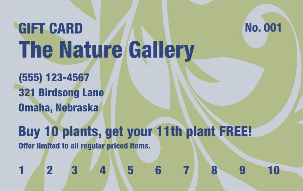 Electric Garden Gift Card