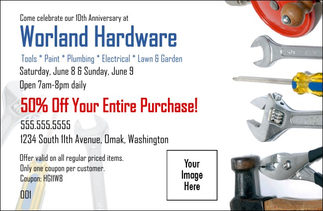 Hardware Coupon 1