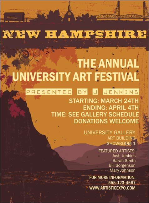 New Hampshire Invitation