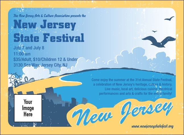 New Jersey Invitation