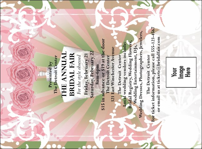 Bridal Fair Invitation