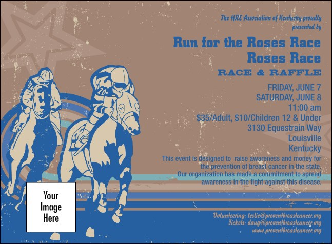 Horse Racing Invitation 002