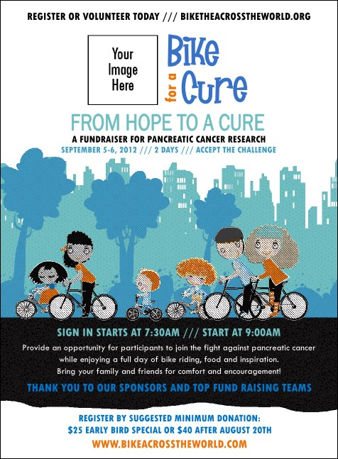 Bike for a Cause Invitation
