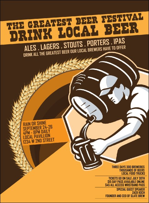 Beer Festival - Artisan Invitation