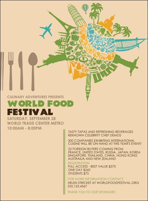 Food Festival Invitation