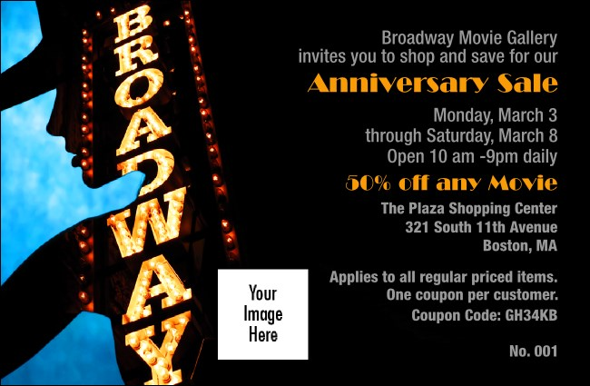 Broadway Coupon 1