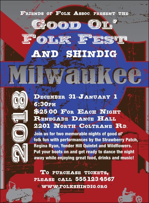 Milwaukee Invitation Product Front
