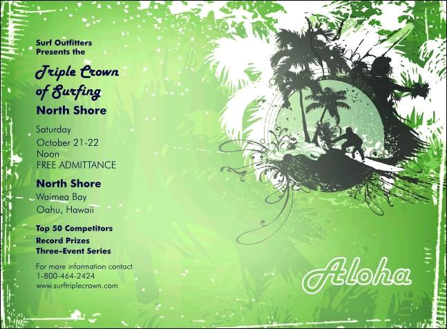 aloha invitation