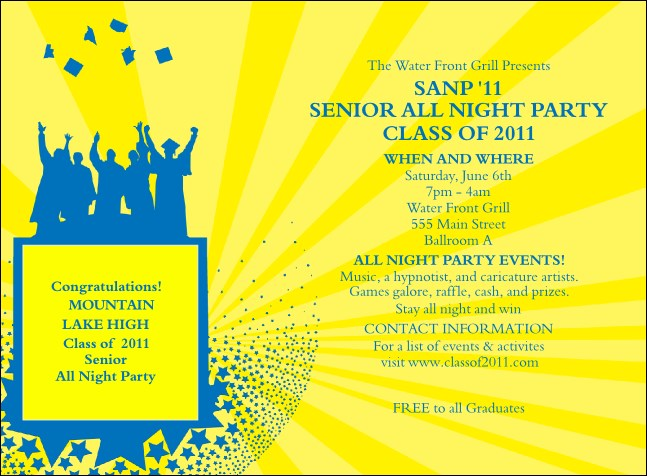 Bright Ideas Graduation Invitation