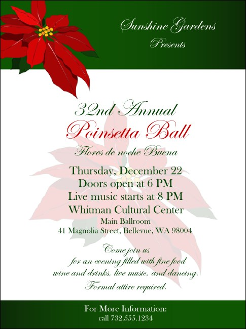 Christmas Poinsettia Flyer 002
