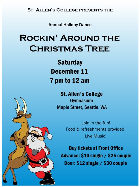 Cool Christmas Flyer 002