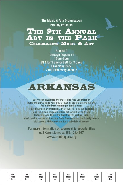 Arkansas Poster Product Front