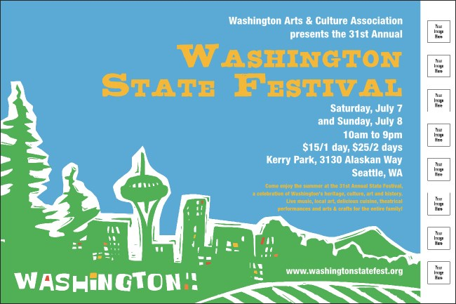 Washington Poster Product Front