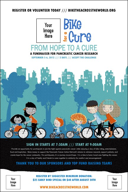 Bike for a Cause Poster