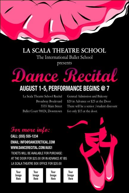 Dance Recital Poster