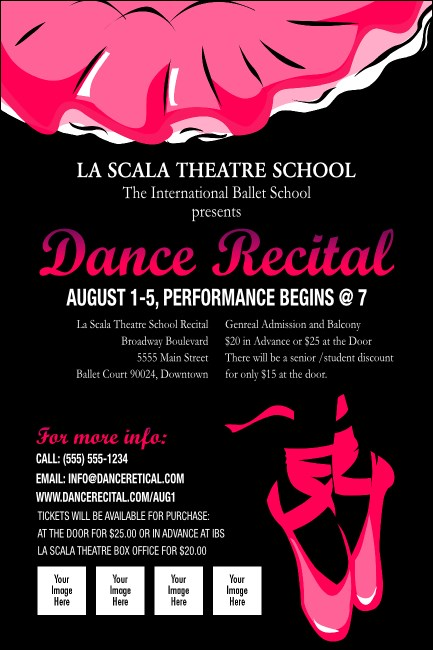 Dance Recital Poster