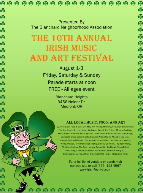 St. Patrick's Day Flyer 001