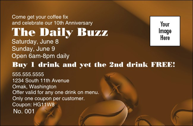 Coffee Coupon 1