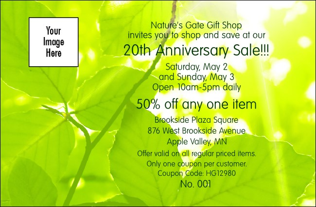 Green Forest Coupon 1