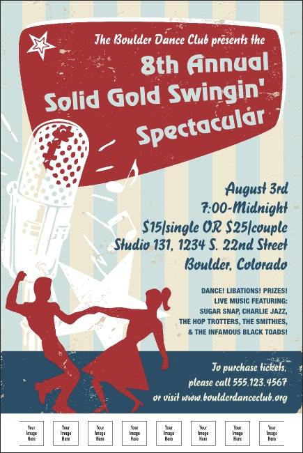 Swing Dance Poster