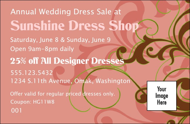 Pink Vines Coupon 1