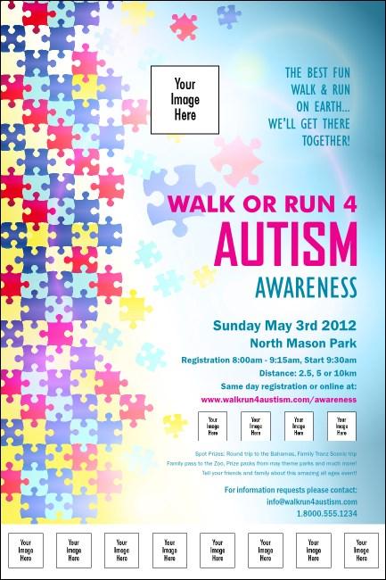autism awareness logo poster