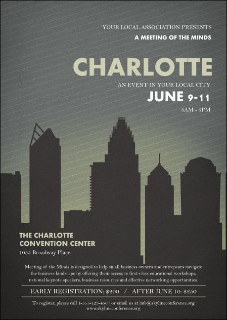 Charlotte Postcard Product Front