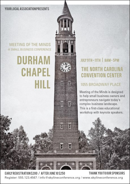 Chapel Hill Postcard