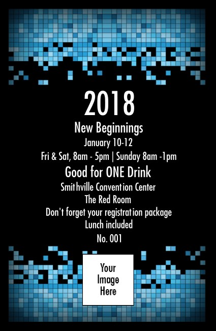 Year Tech Drink Ticket