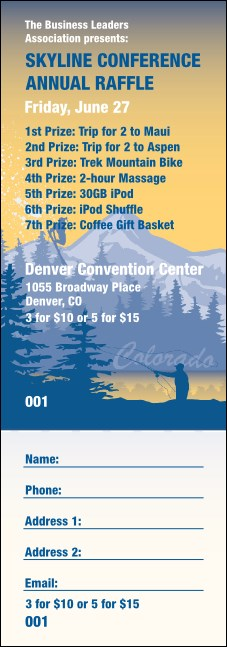 Colorado Raffle Ticket
