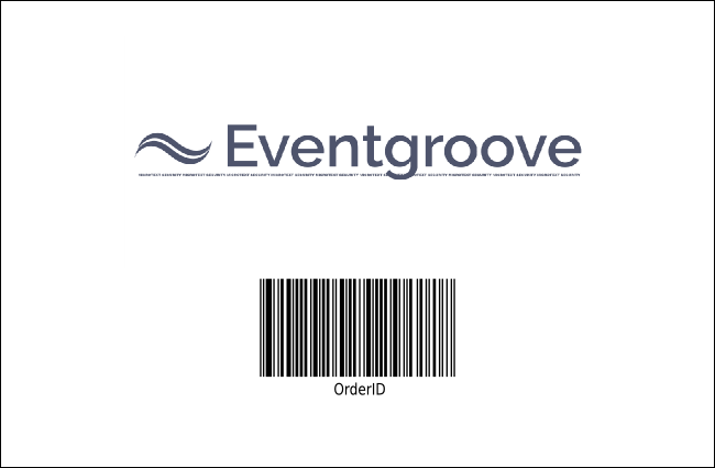 California Drink Ticket (Blue and Salmon) Product Back